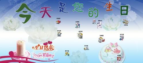 生日祝福网页送你朋友生日微信祝福语图片